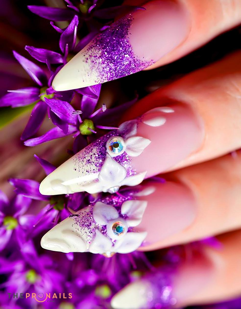 Mimosa Beauty Salon | Sculptured Nail